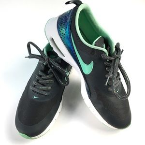 Nike Air Max Thea Anthracite/Green Glow Sneakers